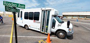 Jacksonville bus at 2019 Roadeo