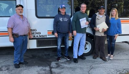 Big Bend Transit Donates Vehicle to Lively Paratransit Instructional Program (LPIP)